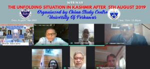 WEBINAR: THE UNFOLDING SITUATION IN KASHMIR AFTER 5TH AUGUST 2019