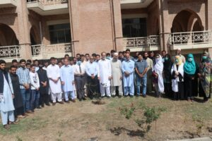 China Study Center, University of Peshawar Celebrates 71st Chinese Independence Day