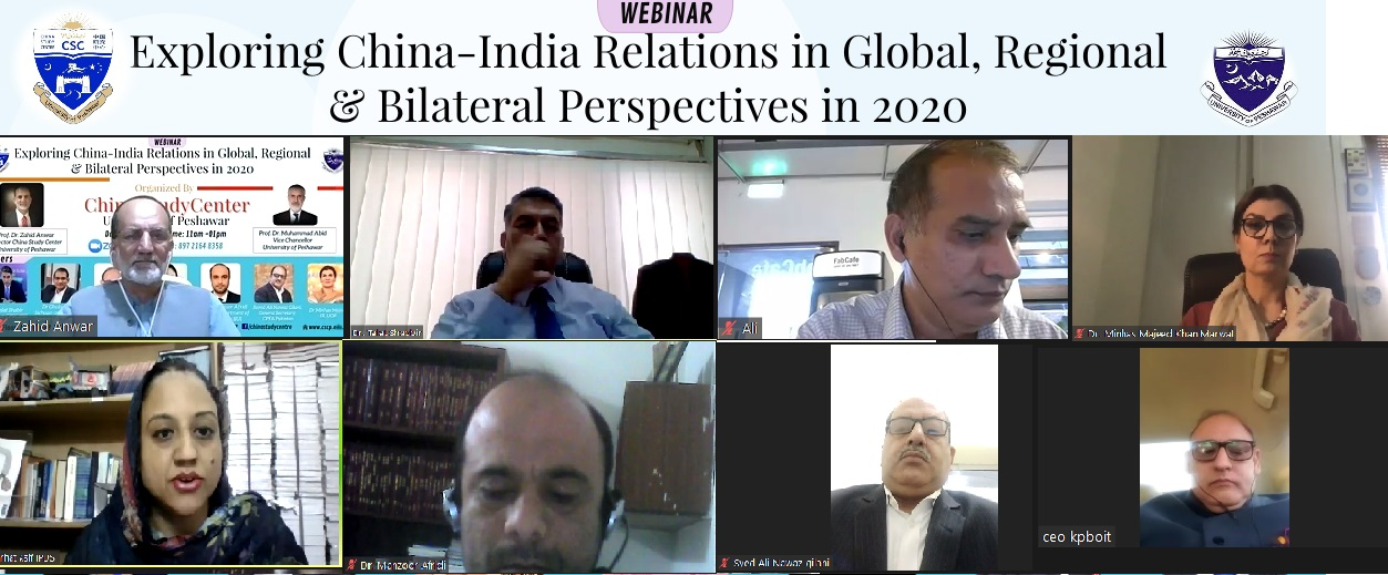 EXPLORING CHINA & INDIA RELATIONS IN GLOBAL, REGIONAL AND BILATERAL PERSPECTIVES IN 2020