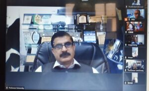 TELECONFERENCE BETWEEN UOP, PAKISTAN AND NWU, CHINA FOR ACADEMIC COOPERATION