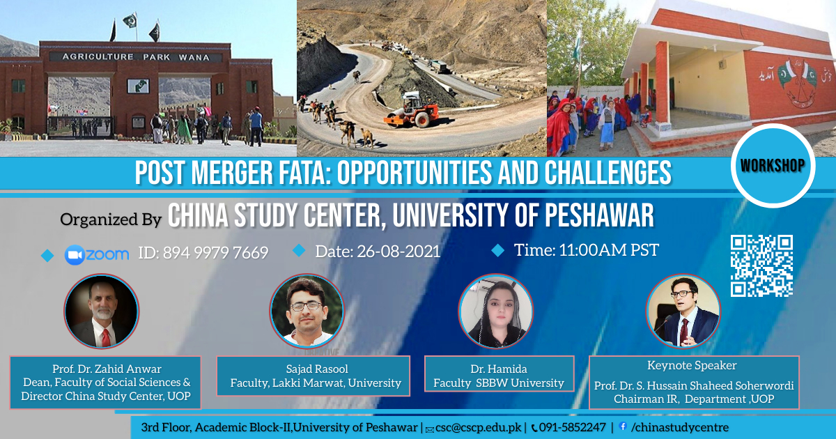 ONLINE WORKSHOP ON: POST-MERGER FATA: OPPORTUNITIES AND CHALLENGES