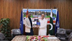 Pakistani Expert on China Visited China Study Center, University of Peshawar
